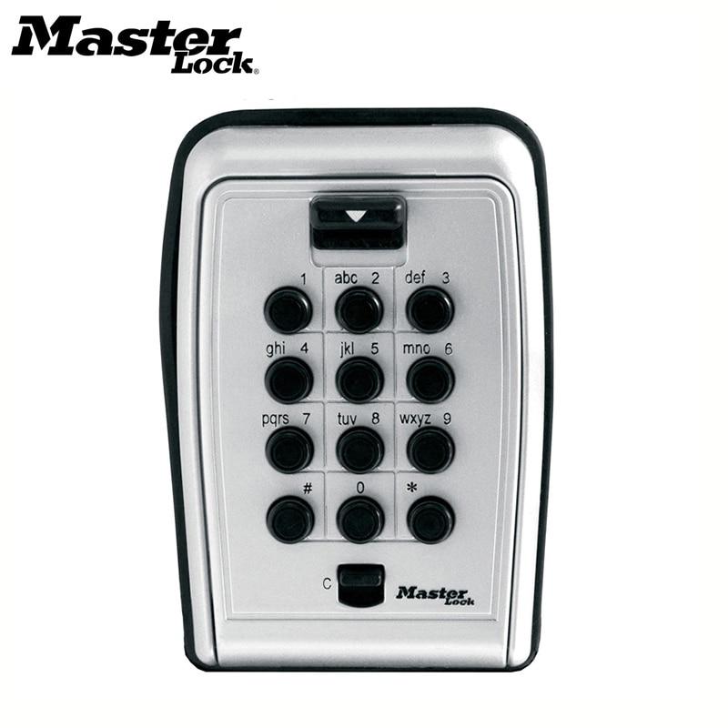 Ящик для хранения ключей Master Lock, металлический шкафчик с паролем, настенное крепление, комбинированные кодовые ключи, для домашней компании...