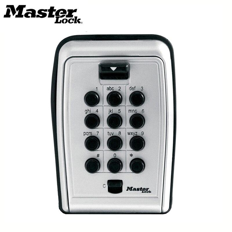 chave de bloqueio mestre caixa de seguranca metal senha locker montagem na parede combinacao codigo chaves