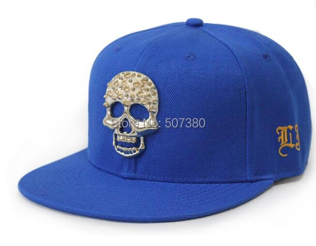 dd4ca9626b1 Gold Skull Baseball Hats Rivet Snapback Cap Studded Baseball Hats Gold  Spike Studs Snap back Cap Adjustable Ball Hat-in Baseball Caps from Apparel  ...
