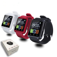 2016 chaude Bluetooth U80 Montre Smart Watch pour iPhone IOS Android Windows Téléphone Porter Horloge Dispositif Portable Smartwach PK U8 GT08 DZ09