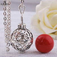 Mariana Guardian Angel Jewelry Mexican Bola Pendant Eudora Harmony Ball Chain Necklace Make Soothing Sound For