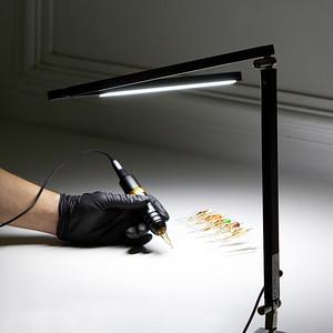 Image 1 - EZ 직업적인 귀영 나팔 빛 LED 책상 램프 귀영 나팔 & 영원한 메이크업 예술가를위한 조정 가능한 경량 귀영 나팔 램프
