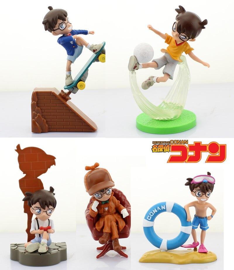 இEnvío libre 5 unids Detective Conan anime Edogawa Conan el 13th ...