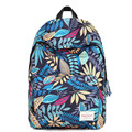 Hot Sale 2016 Women Backpacks Printing Leaves Backpack Rucksack Fashion Canvas Bags Retro Casual School Bag Travel Bags F186