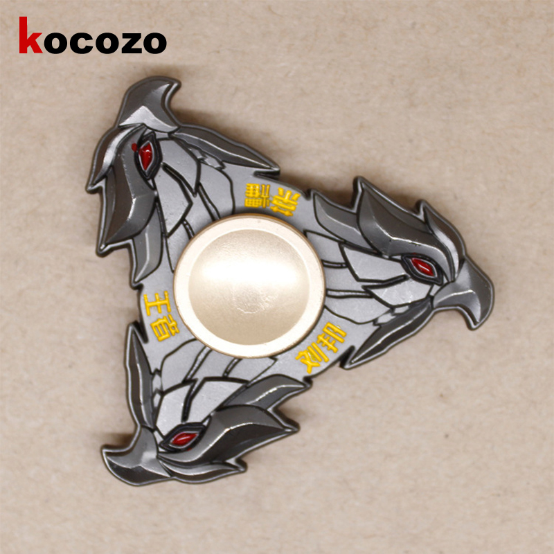 Fidget Spinner Metal Hand Spinner Reduce Stress And Increase Attention Spinner Eagle Chinese Fashion Cool Toys For Children