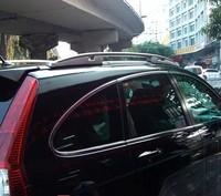 For Honda CR V CRV 2007 2008 2009 2010 2011 Aluminium Alloy Roof Rack Side Rails Bars Outdoor Travel Luggage 2Pcs Car Styling