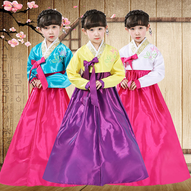 0b7138e34c4a Hanbok Korean Clothing Traditional Dress for Children Kindergarten ...