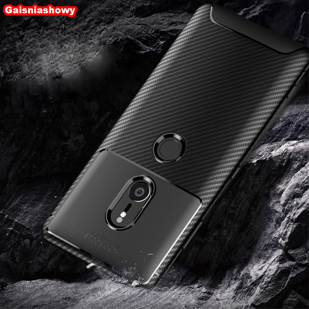 Shockproof Silicon <font><b>Case</b></font> For Sony <font><b>Xperia</b></font> XZ2 XZ3 XA2 Ultra Plus <font><b>1</b></font> 2 10 20 Compact Premium Soft TPU Phone <font><b>Case</b></font> Cover Shell Coque image