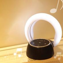 TPFOCUS Portable Mini Rechargeable Wireless Bluetooth Speaker Atmosphere Night Light