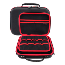 Large Capacity Digital Accessories Storage Bag for Mobile HDD, Game Console, Charger Portable Gadget Pocket Travel Nylon Pouch