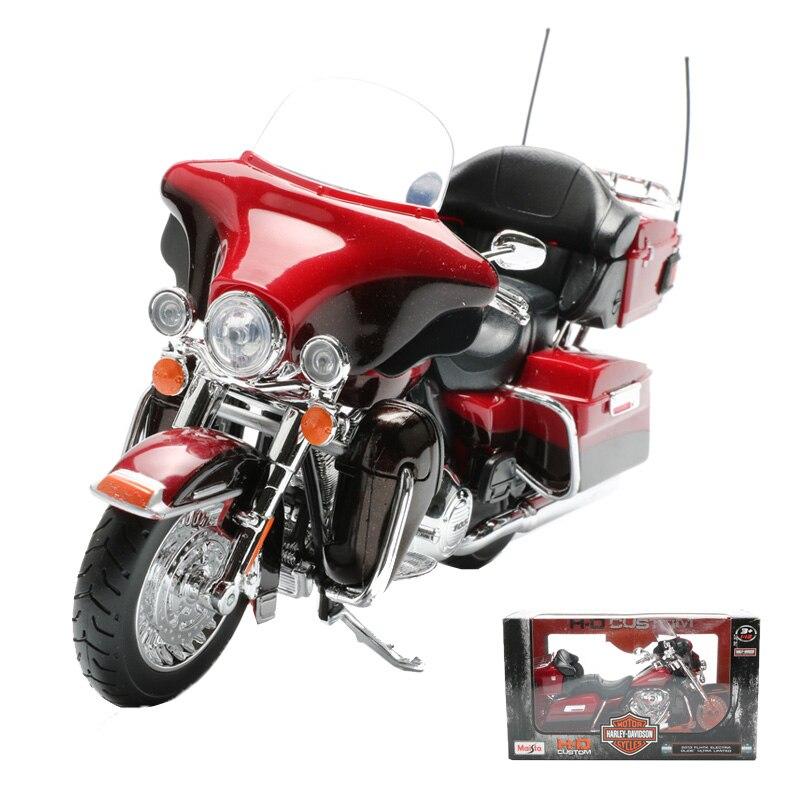 Maisto 1:12 модель мотоцикла из сплава игрушки American Retro мотоцикл 2013 FLHTK ELECTRA GLIDE Ультра LIMITED украшения дома обувь для мальчиков игрушечные лошадки