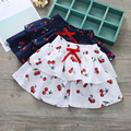 2017 New Baby Girls Cherry Cake Skirt,sweet Girl Cotton Printed Skirts,wholesale 5pcs/lot
