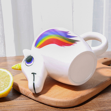 Temperature Sensitive Unicorn Patterned Mug