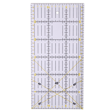 DIY Transparent Quilting Sewing Patchwork Foot Aligned Ruler Grid Cutting Tailor Craft Scale Rule Craft Sewing Tools 30*15CM