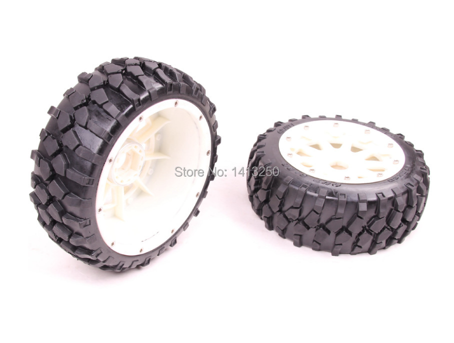 5B  High-strength   Nylon Front  Macadam Wheels set  for baja parts,free shipping 5b high strength nylon rear macadam wheels set for baja parts free shipping