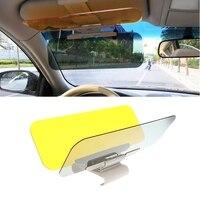 Car Styling Auto Windschutzscheibe Sonnenschutz Brille Versenkbare Seite Sonnencreme Sonnenblende Auto Zubehör-in Windschutzscheibe-Sonnenblenden aus Kraftfahrzeuge und Motorräder bei