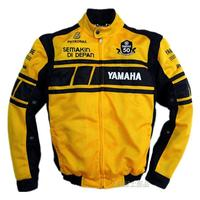 MOTO GP Racing Team white/yellow men's jacket for YAMAHA motorcycle detachable cotton lining cultural commemorative dress