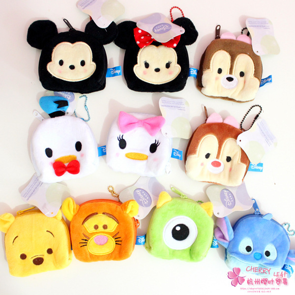 Official Website Ivyye 1pcs Mickey Stitch Anime Plush Card Holder Pu Cartoon Credit Id Bags Coin Bus Card Wallet Kid Girls Gifts New Card & Id Holders Luggage & Bags