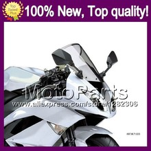Light Smoke Windscreen For SUZUKI GSXR750 GSXR 750 GSX R750 750 GSX-R750 K8 08 09 10 2008 2009 2010 #152 Windshield Screen