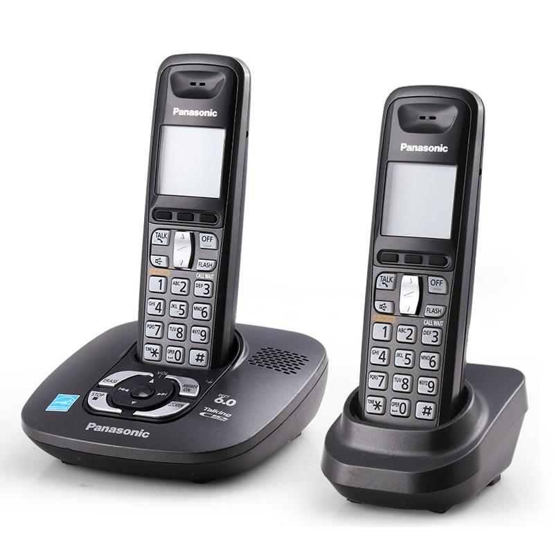 Numérique Sans Fil Téléphone Avec Répondeur Mains Libres Voix Mail Rétro-Éclairé LCD Fixe Sans Fil Téléphone Pour Home Office Bussiness