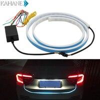120cm Car Styling LED Car Tail Trunk Tailgate Strip Light Colorful Flash LED Light Bar Floating