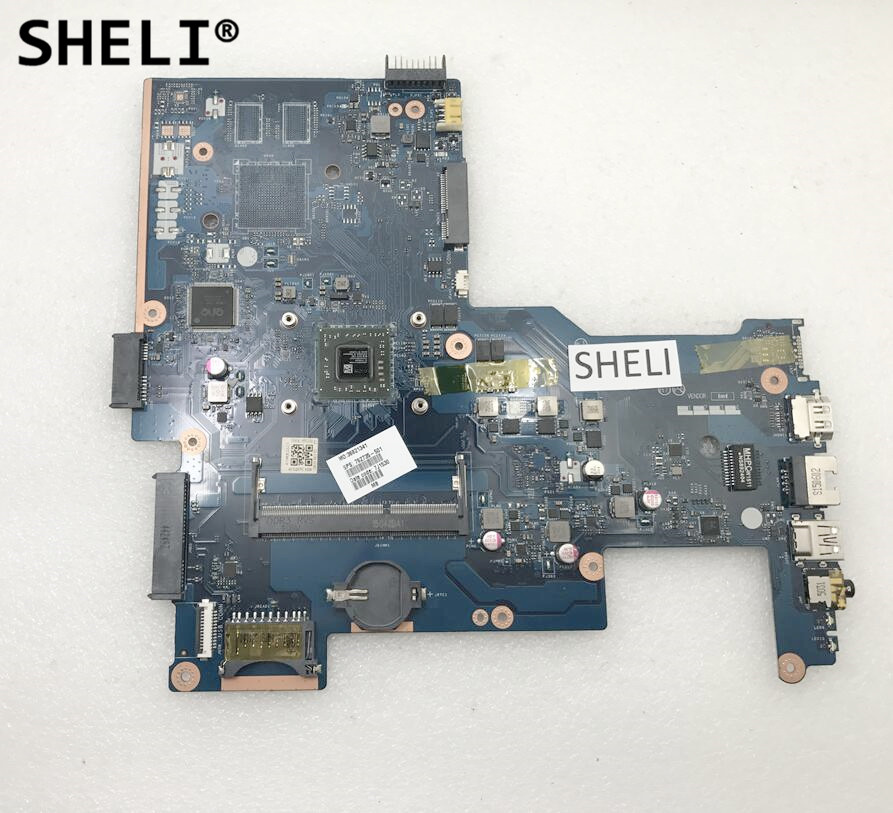 SHELI For HP 15-G 15-Z Motherboard with A6-5200 cpu LA-A996P 762735-501 762735-001 sheli for hp 15 15 f motherboard with e1 2100 cpu 776783 001 776783 501