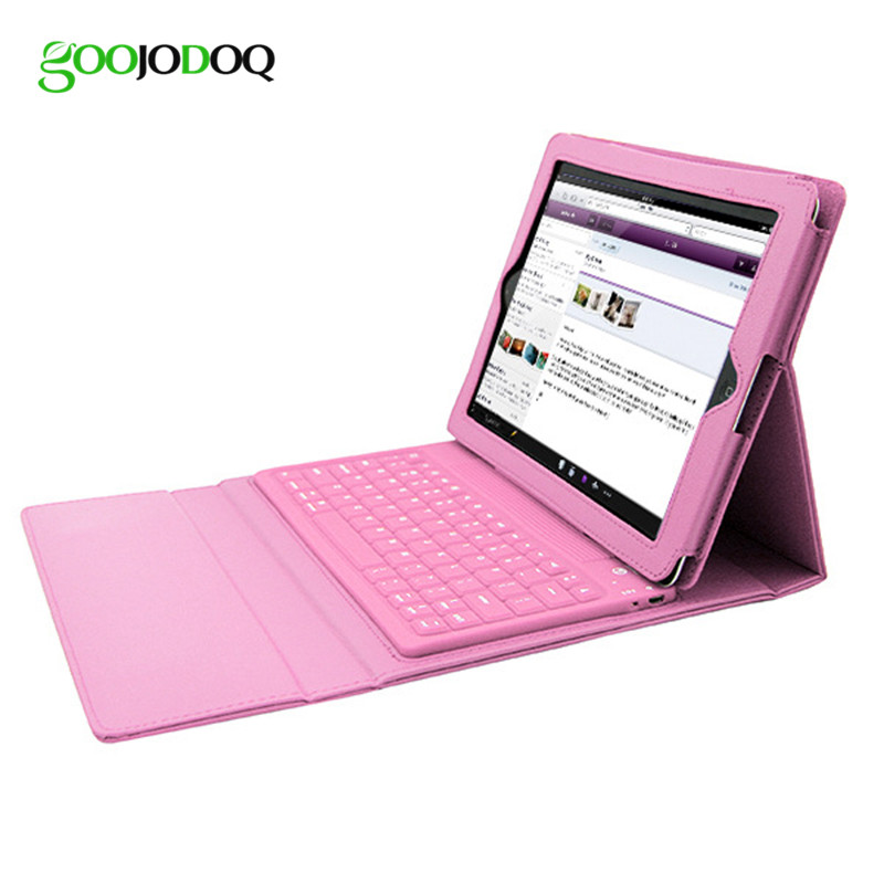 Case for iPad 4 3 2 Keyboard Ultra Slim Foldable PU Leather Cover with Bluetooth Keyboard for Apple IPad Mini 1 2 3 Case Stand foldable pu leather pad cover with flower girl driving style inlaid diamond support stand for ipad mini 3