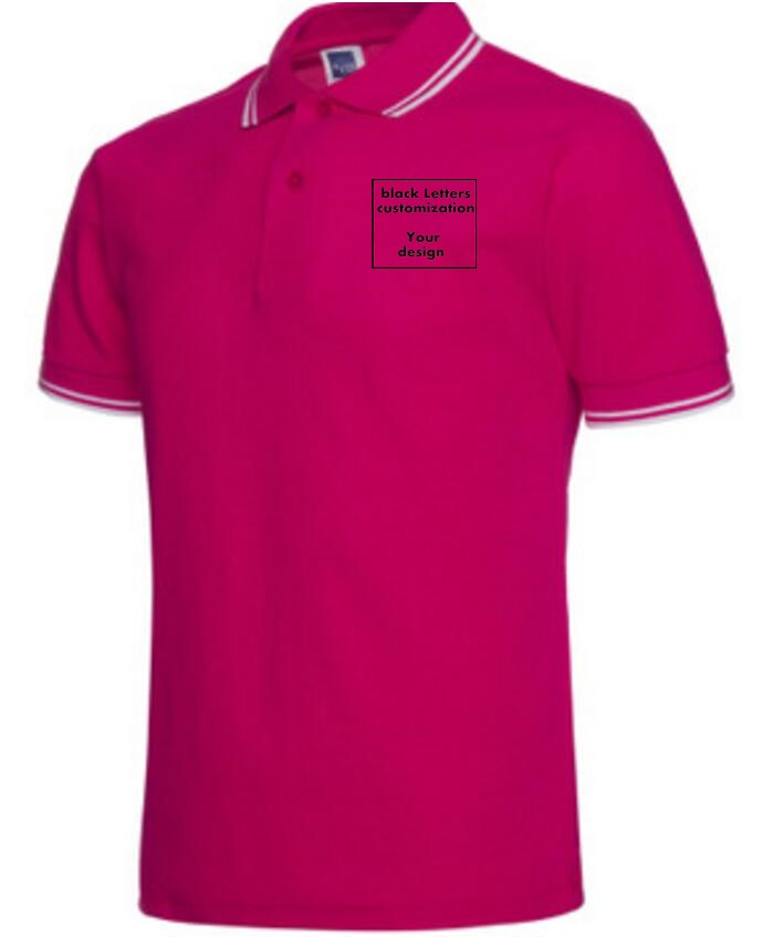 f519dacef Jujube red polo shirts Your letter design. We print it Men Polo Shirt Men  Business & Casual solid male polo shirt -in Polo from Men's Clothing on ...