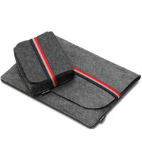 New Fashion Wool Felt Laptop 15 Inch Notebook Sleeve Carry Case For MacBook Pro Retina 15