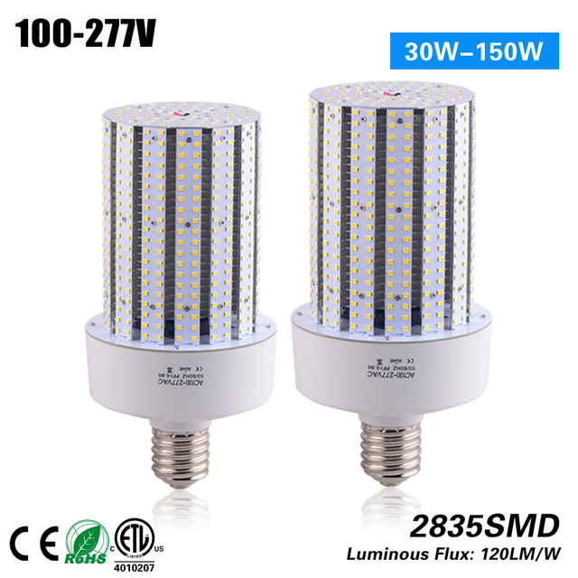 free shipping 120lm w 80w e26 e39 base replace cfl hps mhl 3 years