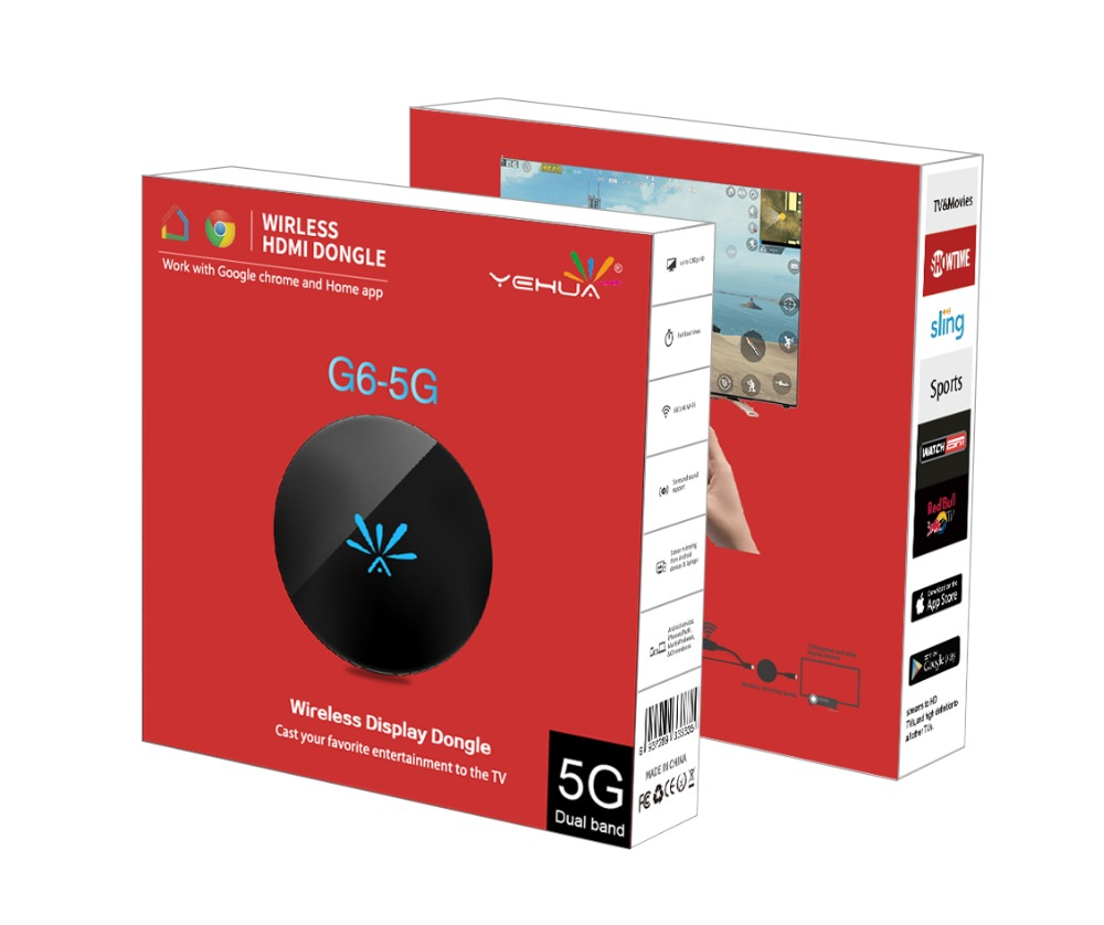 Mirascreen G6 Wifi 2,4g/5g Display TV Dongle HDMI 1080 p miracast AirPlay für ios Android PC tablet telefon zu Jeder Cast Crome Cast g2