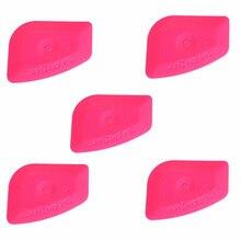 أداة تثبيت ورق حائط السيارة EHDIS 5 قطعة باللون الوردي الفاتح ، أداة تظليل النوافذ ، أداة تثبيت ملصقات السيارة