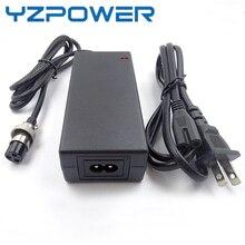 YZPOWER 12,6 V 4.5A 4A cargador de batería de litio Lipo de 3 células para paquete de batería de iones de litio para batería de 12V