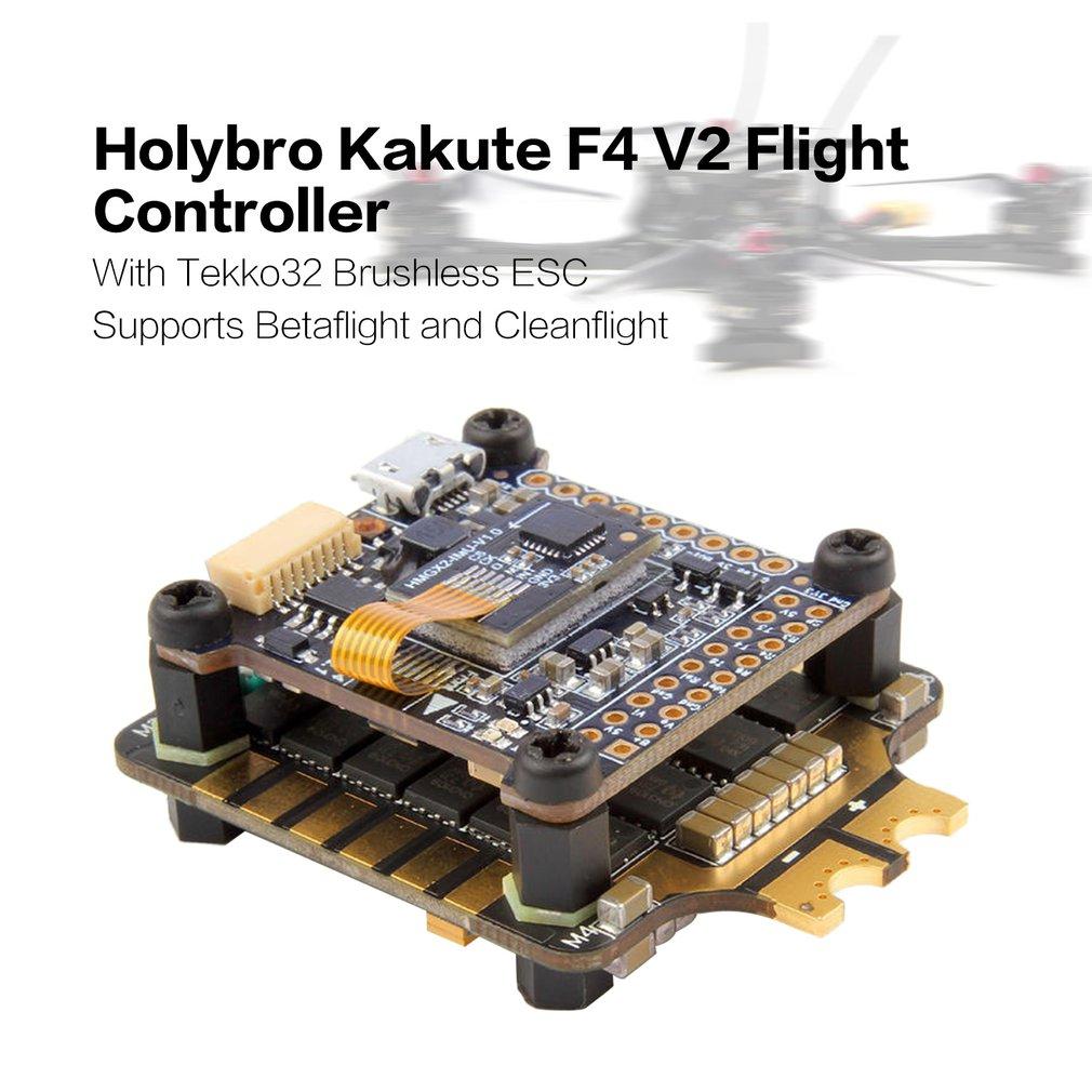 Holybro Kakute F4 V2 Flight Controller Tekko32 35A 4 In 1 Blheli 32 3-6S Brushless ESC for RC Multirotor FPV Racing DroneHolybro Kakute F4 V2 Flight Controller Tekko32 35A 4 In 1 Blheli 32 3-6S Brushless ESC for RC Multirotor FPV Racing Drone