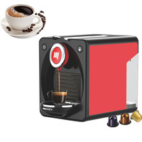 Small nespresso capsule coffee maker