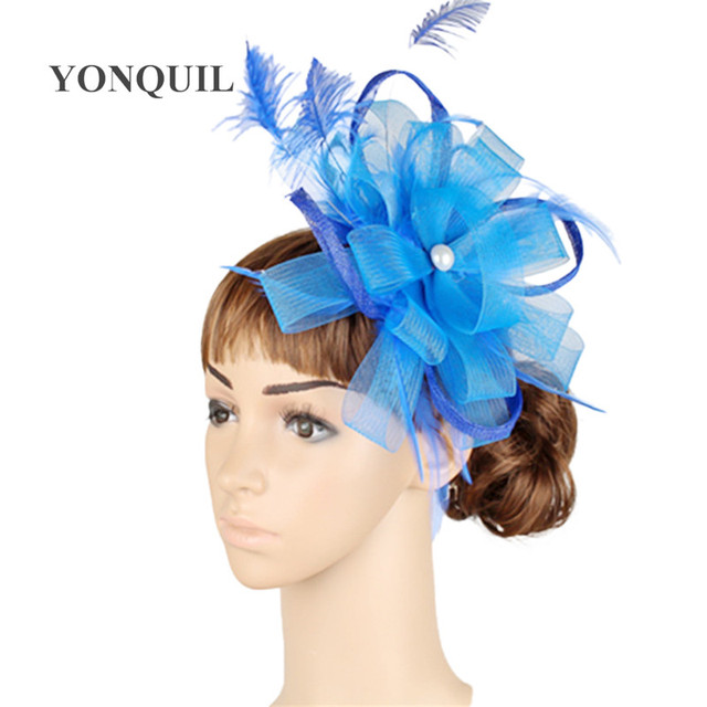 868256a6c0e6a 17 colors classic sinamay material kentucky derby fascinator hat red  cocktail headpiece race headwear suit for