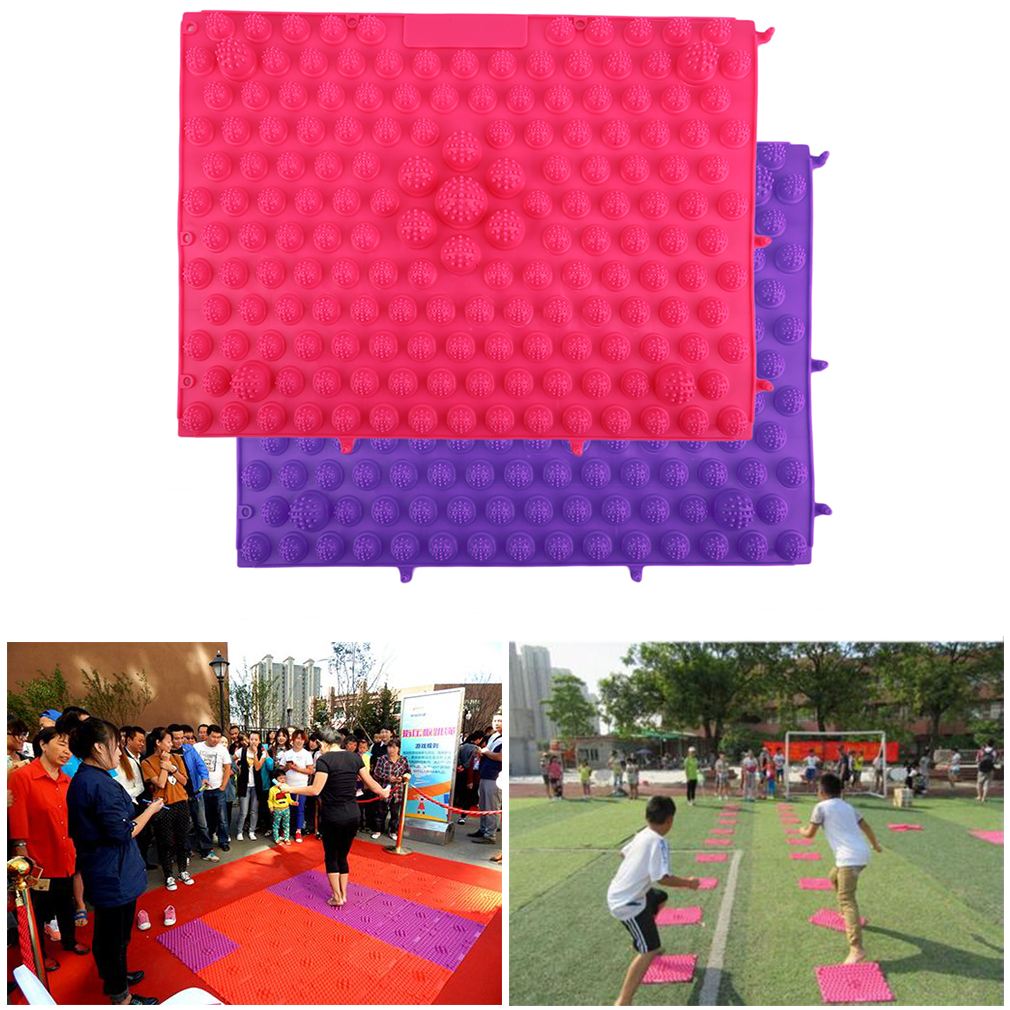 Korean Style Foot Massage Pad TPE Modern Acupressure Reflexology Yoga Mat Acupuncture Rugs Fatigue Relieve Promote Circulation