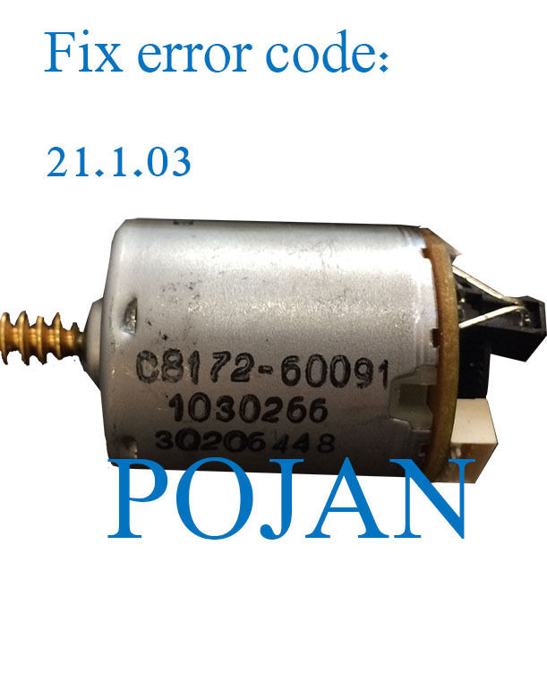 Fix 21.1.03 code Q6683-60187 DJ T610 1100 Z2100 3100 3200 Z5400 PS Service station motor plotter parts FREE SHIPPING