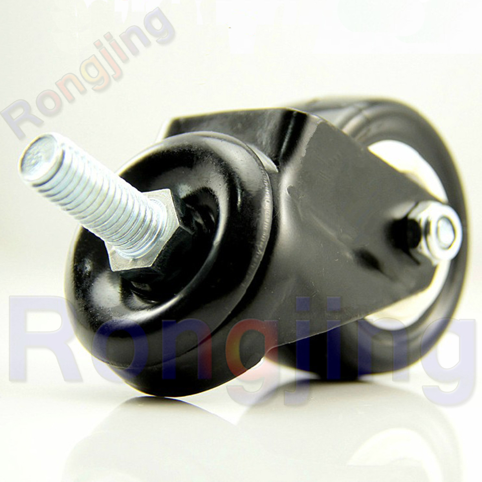 New 1.5'' Double Bearing Furniture Universal Caster Durable PU Rolling Swivel Castors Sofa Casters Chair Fast Pulley