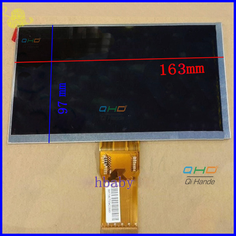 New LCD Display Matrix For 7 Inch teXet X-pad Navi 7 3G TM-7059 Tablet Inner LCD Screen Panel Module Replacement Free Shipping 100% new 7 9 inch lcd screen 100% newbrand new original replacement for i pad mini lp079x01 sm av lcd screen