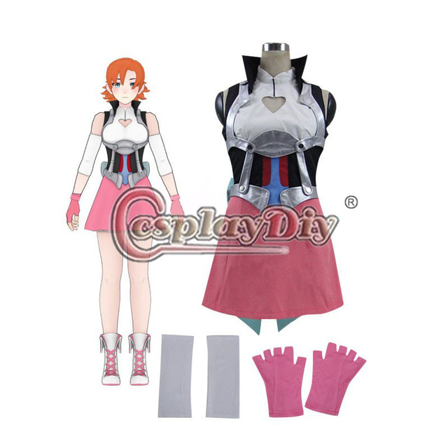 Cosplaydiy Nora Valkyrie RWBY Cosplay Costume Dress Adult Women Halloween Carnival Party Custom Made D0415