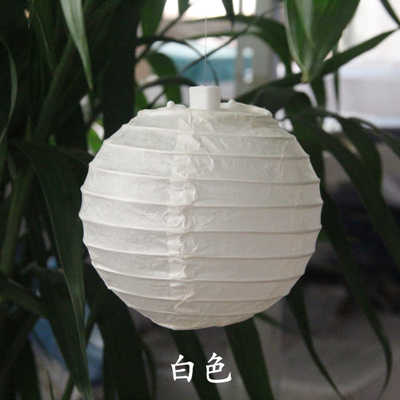 White Paper Lantern Tissue Paper Flower Pom Poms Honeycomb Balls Paper Fan Wedding Birthday Party Decoration DIY Crafts Supplies
