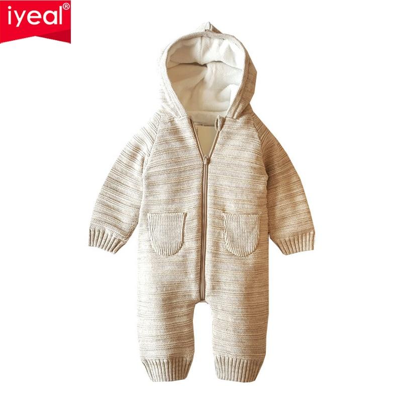 <b>Iyeal</b> knitted <b>baby winter</b> romper christmas <b>newborn</b> boys girls ...