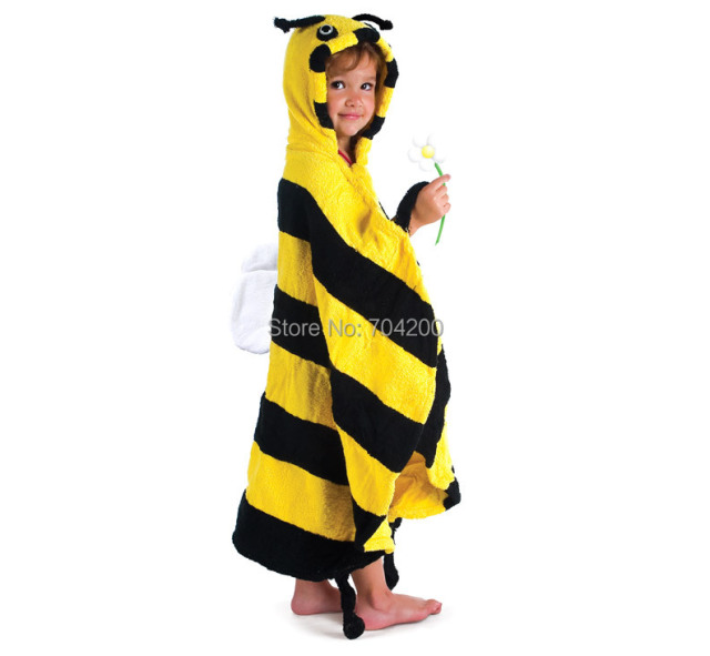 Retail-LADYBIRD Beetle ladybug/Baby bathrobes/chidlren's bath towel/infant hooded bathtowel/Animal cartoon/modeling bath robe