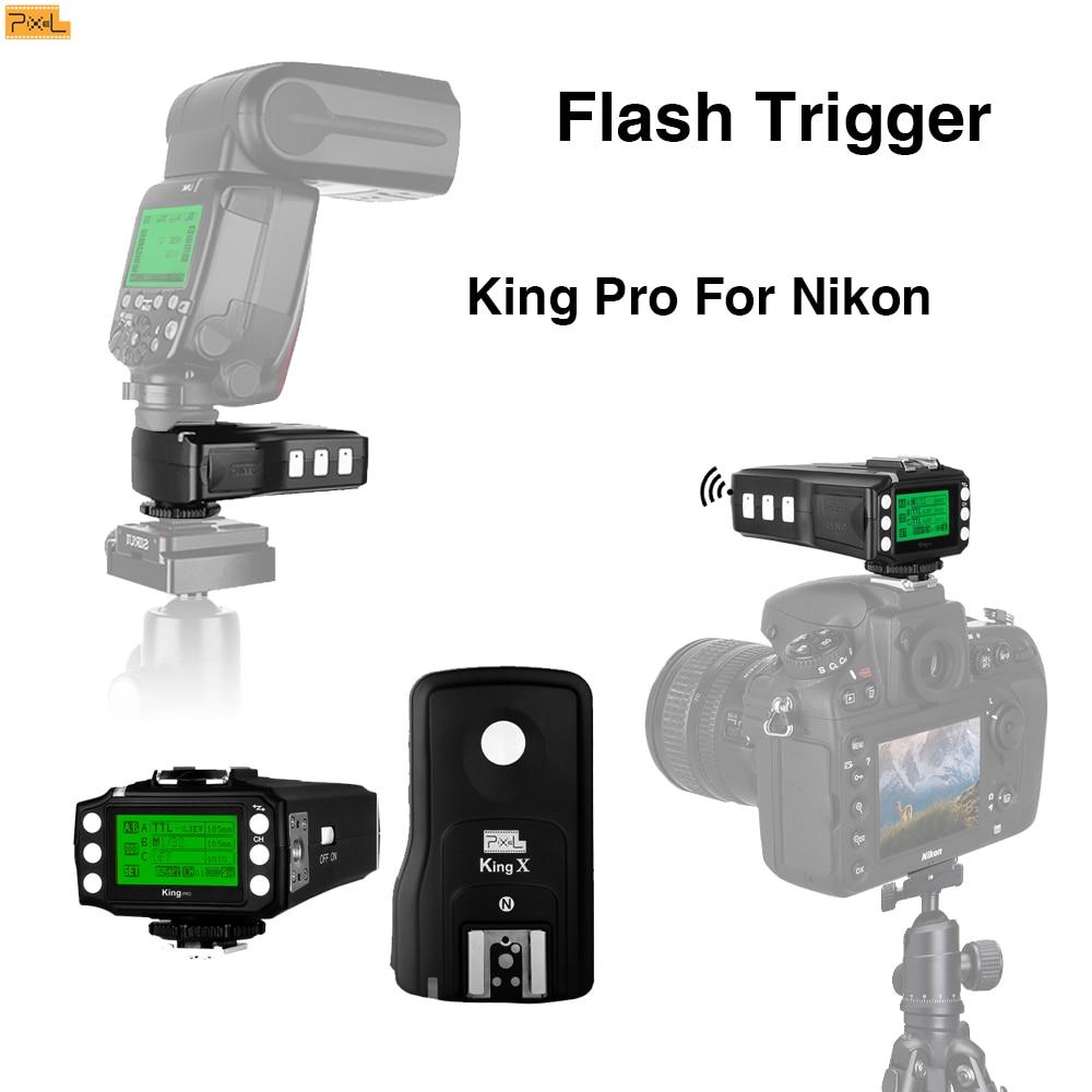 Pixel King Pro Pro Nikon D7100 D7000 D5000 D5000 D3200 D310 DSLR - Videokamery a fotoaparáty - Fotografie 1