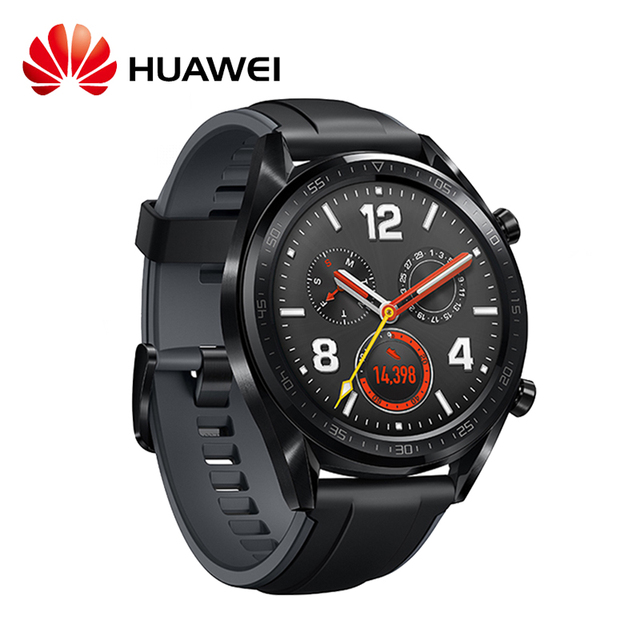 HUAWEI WATCH GT Smart Watch 1.39inch AMOLED 454*454 HD Screen 14Days Battery Life GPS 5ATM Heart Rate Monitor Sports Smart Watch