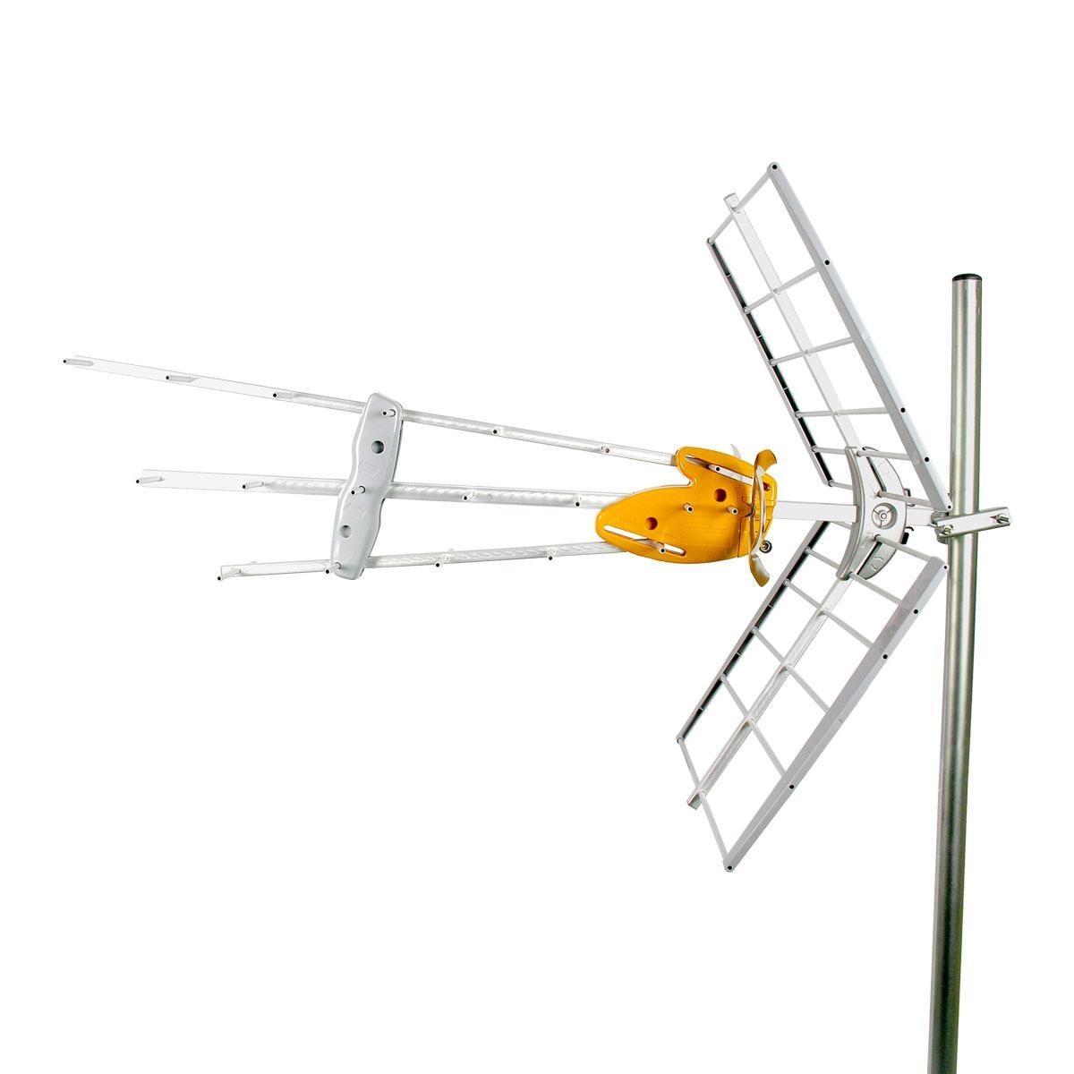 Antenne TV UHF DAT HD BOSS Tech 17dBi 4G-LTE