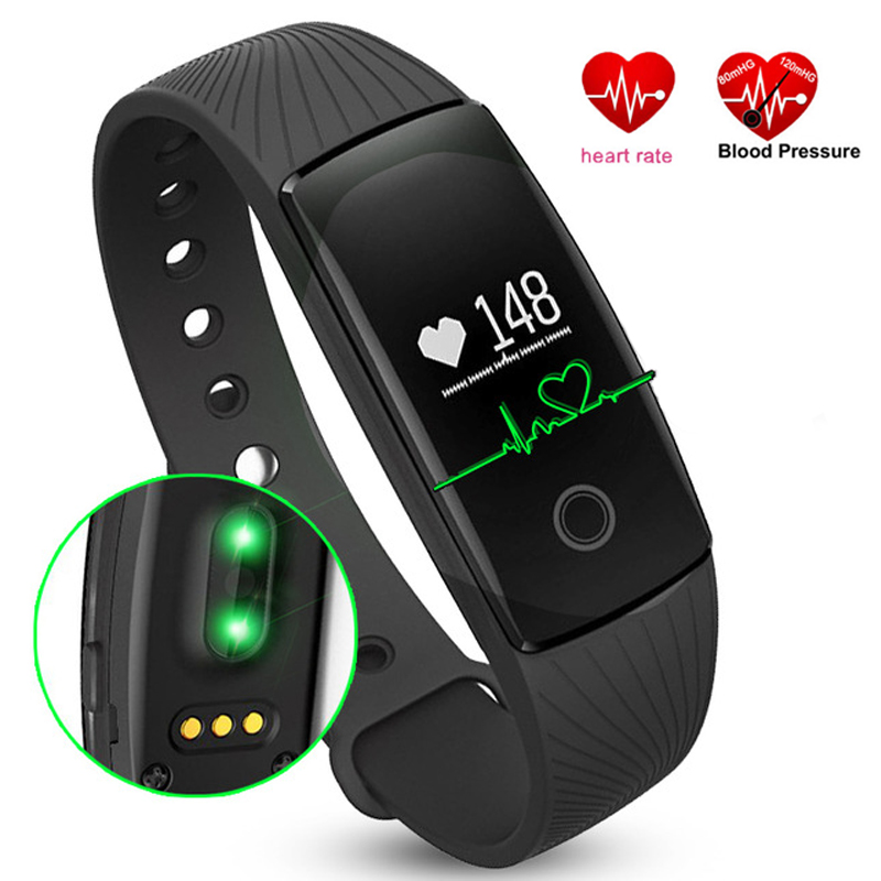 New Smart Bracelet Heart Rate Monitor Wristwatch V05C Wrist Band Pedometer Sports Fitness Tracker Watches for IOS Android Phone стоимость