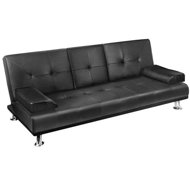 Moderna pu pelle 3 posti chesterfield divano letto mobili in salotto ...
