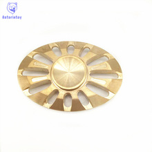 EDC Hand-spinner Toys Pattern Hand Spinner Metal brass Spinner and ADHD Adults Children Educational Toys Hobbies